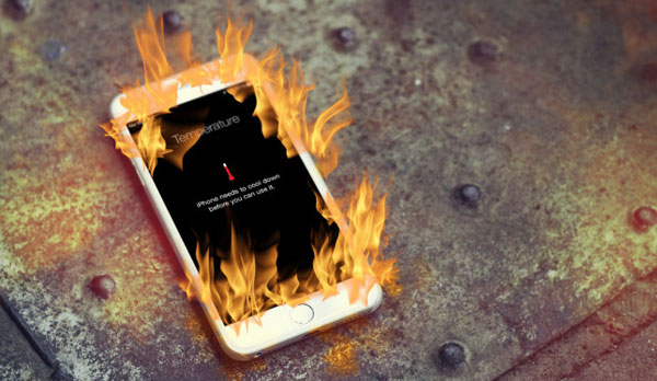 reasons about iphone getting hot