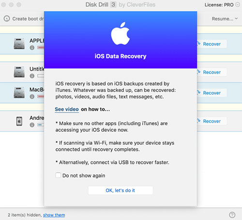 ipad file recovery like disk drill ios data recovery