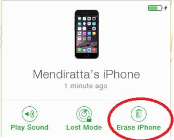 how to unlock an iphone with a broken screen via icloud