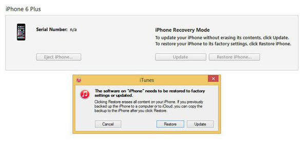 fix bricked iphone manually