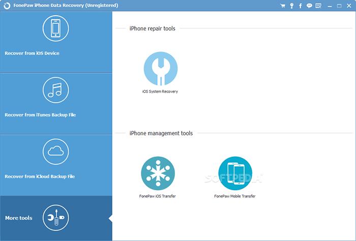 ipad data recovery tool like fonepaw iphone data recovery
