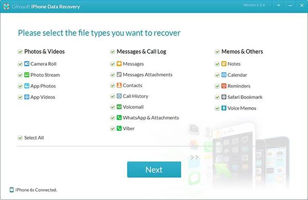 iphone file recovery software like gihosoft