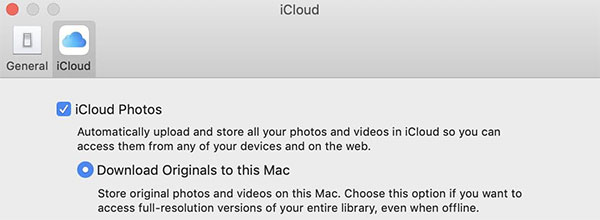 download photos from icloud photo library to mac