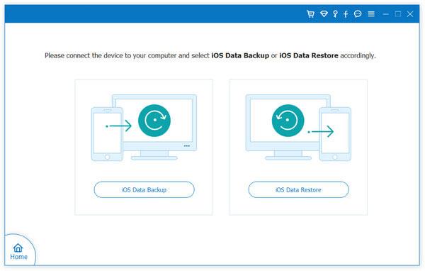 choose ios data backup