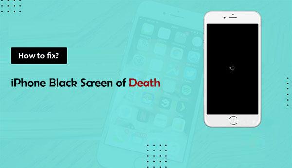 iphone black screen of death