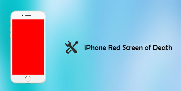 iphone red screen of death