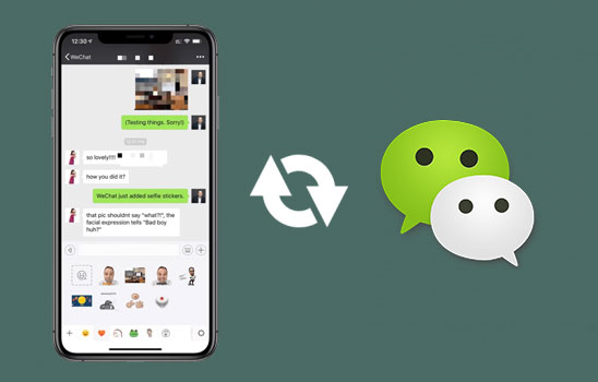 recover deleted wechat messages on iphone