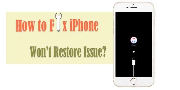 iphone wont restore