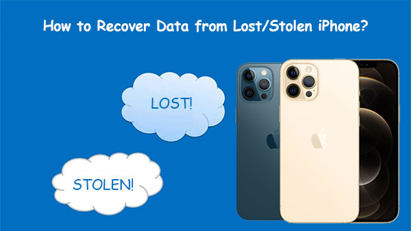 how to recover data from lost iphone