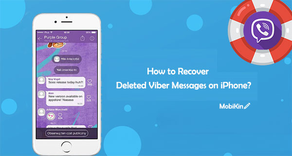 recover deleted viber messages on iphone