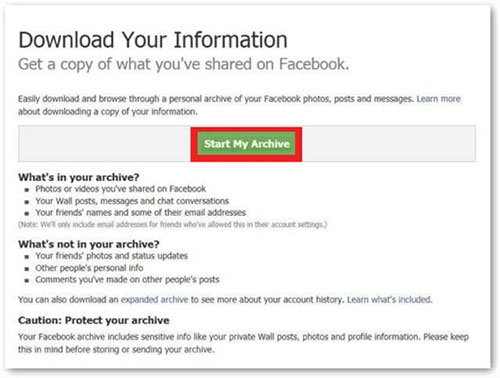 how to recover deleted messages on facebook messenger from fb settings