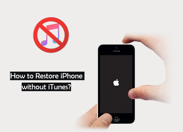 how to restore iphone without itunes