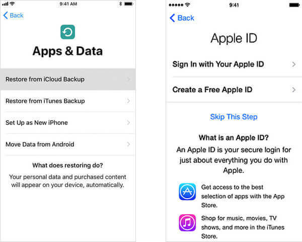 recover music from icloud