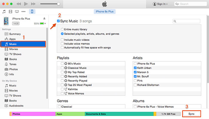 restore iphone music from itunes backup