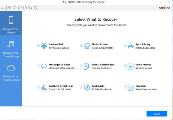 iphone recovery software like stellar