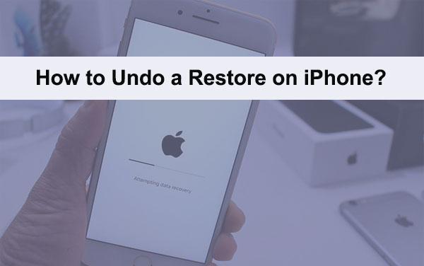 undo iphone restore