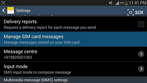 how to transfer texts from iphone to android via sim card