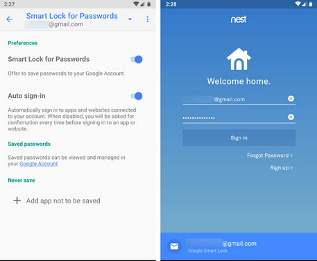 transfer bookmarks and passwords between phones with google chrome