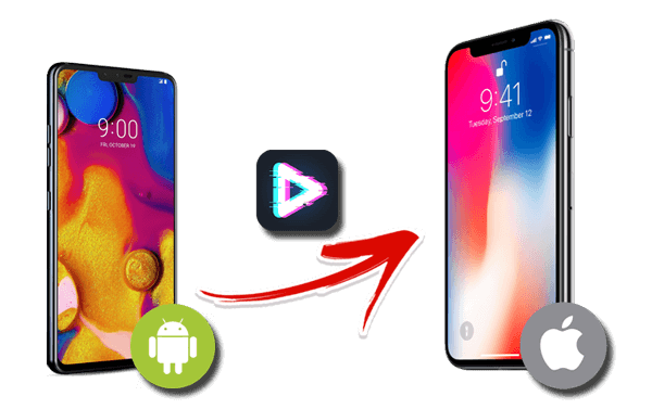 how to send video from android to iphone