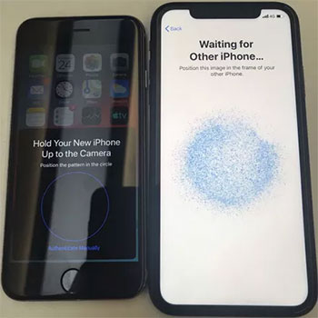transfer iphone to iphone with quick start