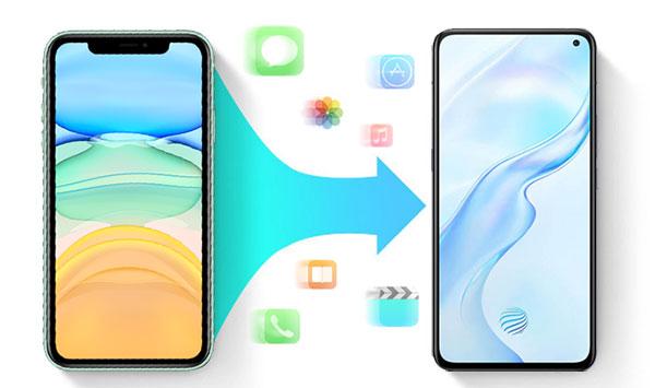 iphone to vivo data transfer