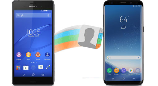 transfer contacts from sony to samsung