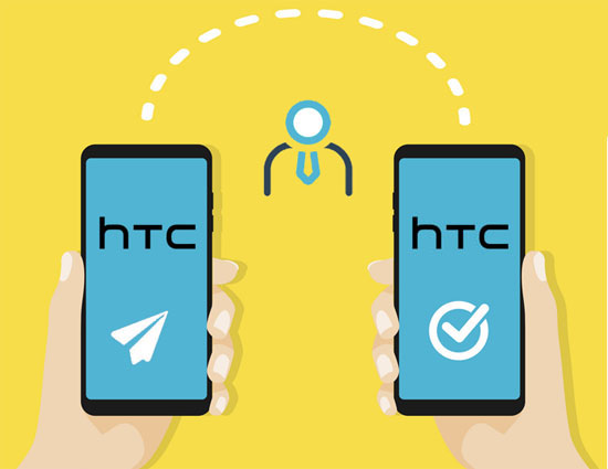 transfer contacts from htc to htc