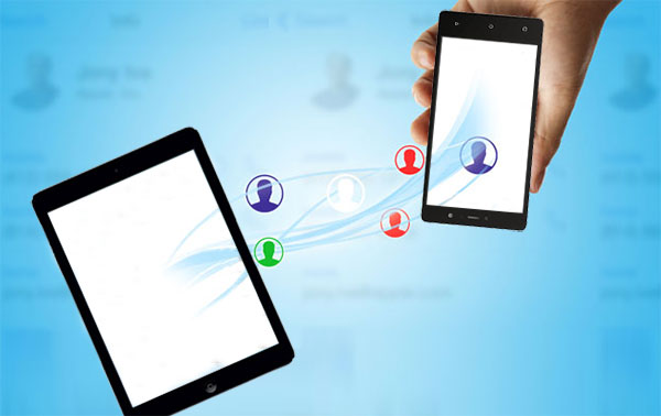 transfer contacts from ipad to android