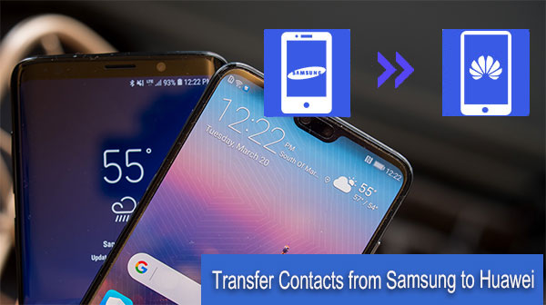 transfer contacts from samsung to huawei