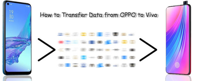 how to transfer data from oppo to vivo
