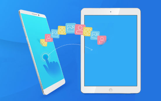 transfer files from android to ipad