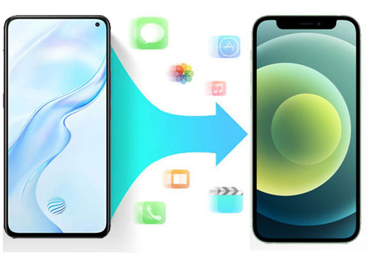 how to transfer data from android to iphone 11