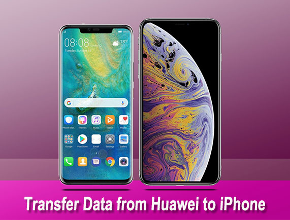transfer data from huawei to iphone
