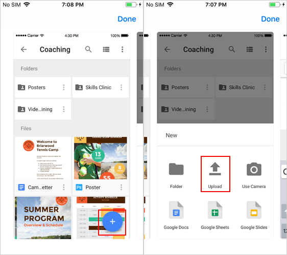 Transfer Files from Phone to Phone via Google Drive