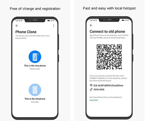 transfer data from iphone to android app - phone clone