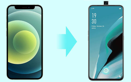 how to transfer data from iphone to oppo