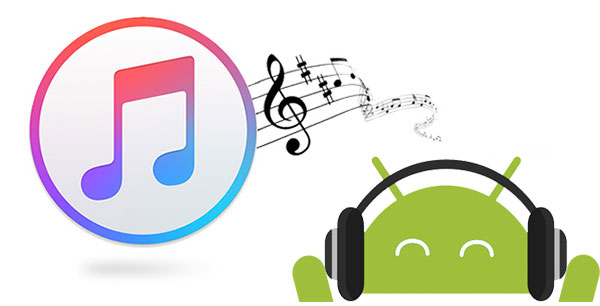 transfer music from itunes to android