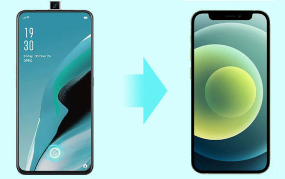 transfer data from oppo to iphone