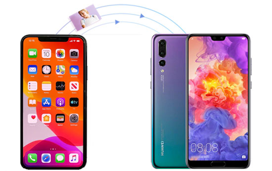 transfer photos from iphone to huawei