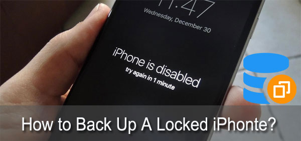 how to back up locked iphone