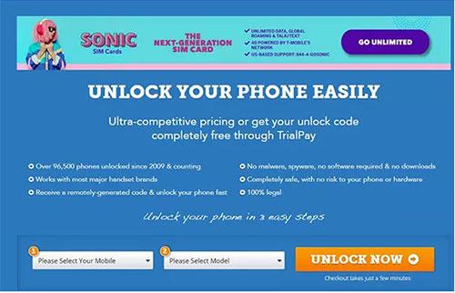 samsung phone unlocking software like freeunlocks