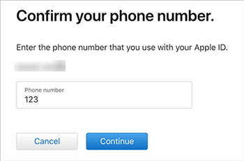 unlock apple id without phone number via iforgot