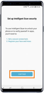 how to use samsung intelligent lock screen