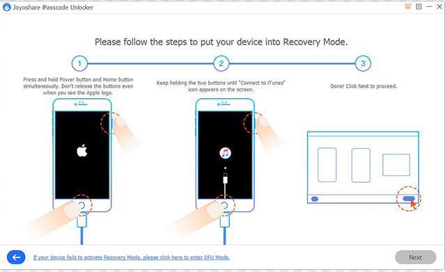 iphone unlocking software as joyoshare ipasscode unlocker