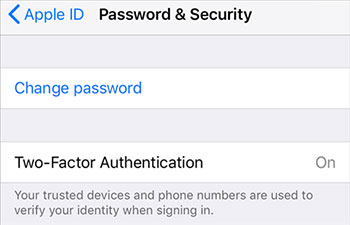 unlock apple id using two-factor authentication