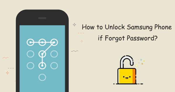 unlock samsung phone forgot password