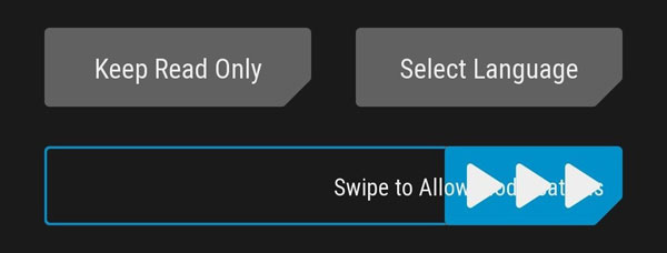 flash the twrp recovery