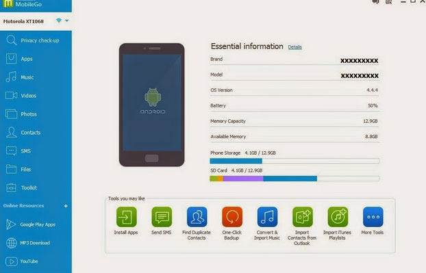 android rooting software like mobilego
