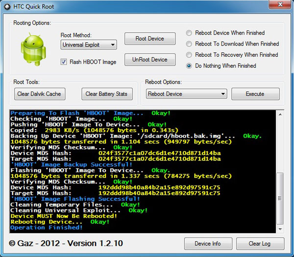 How to Root Any HTC Devices in One Click?