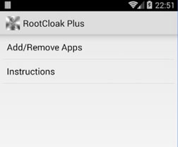 root hiding apps